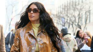 Kim Kardashian paseando por las calles de Nueva York (Foto: Gtres)