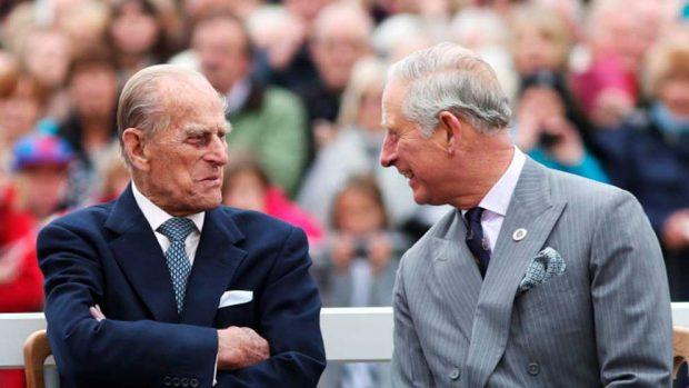 Duque de Edimburgo, príncipe Carlos