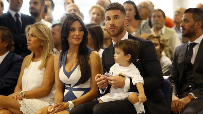 Pilar Rubio, Sergio Ramos y su hijo
