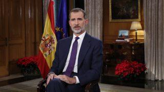 El Rey durante el discurso de 2018 / Casa del Rey