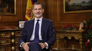 El rey Felipe durante el discurso / Casa del Rey