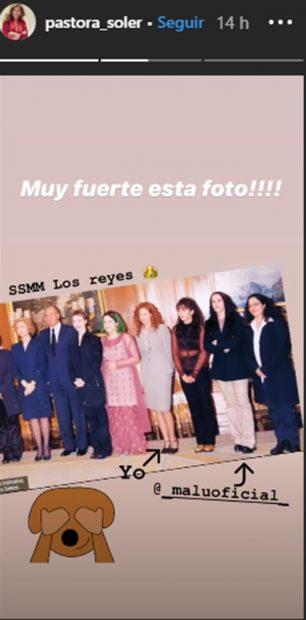Malú, Pastora Soler y los reyes eméritos