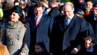 Los duques de Cambridge no se han perdido la misa de Navidad / Gtres
