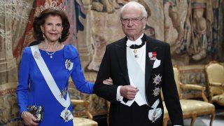 Los Reyes de Suecia durante la cena de los Premios Nobel / Gtres