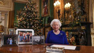 Isabel II durante su discurso de Navidad / Gtres