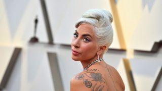 Lady Gaga en los premios Oscar / Gtres