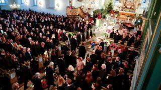 Funeral multitudinario de Ari Behn (Foto: Gtres)