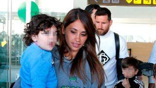 Galería: así ha sido la llegada de Messi y Antonella a Barcelona / Gtres