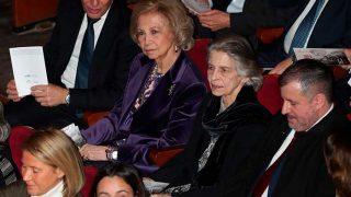 La reina Sofía y su hermana Irene de Grecia / Gtres