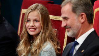 La princesa Leonor y el rey Felipe / Gtres