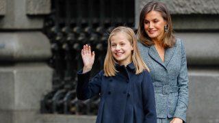 La reina Letizia y Leonor / Gtres