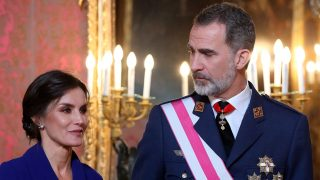 Letizia y Felipe VI en la Pascua Militar / Gtres