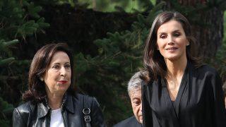 Doña Letizia y Margarita Robles en una imagen de archivo / Gtres