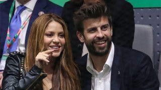 Shakira y Gerard Piqué en la final de la Copa Davis / Gtres