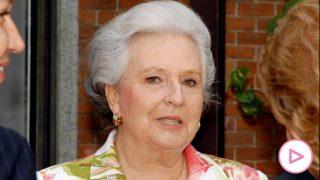 La infanta Pilar de Borbón fallece a los 83 años (Foto: Gtres)