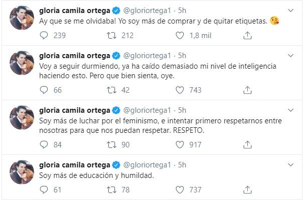 Nuevo asalto en la guerra entre Gloria Camila y Sofía Suescun