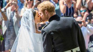 El príncipe Harry y Meghan Markle el día de su boda (Foto: Gtres)