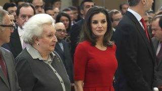 La infanta Pilar de Borbón y doña Letizia en una imagen de archivo (Foto: Gtres)