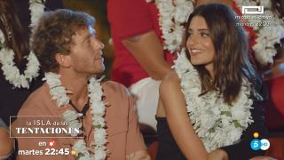 Gonzalo y Susana en ´La isla de las tentaciones»./Mediaset