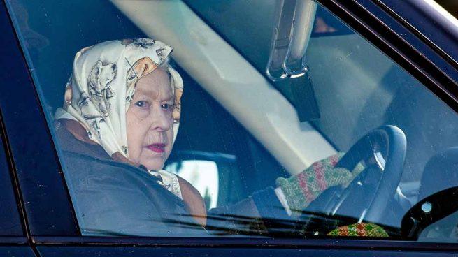 La reina Isabel II en su última aparición pública / GTRES