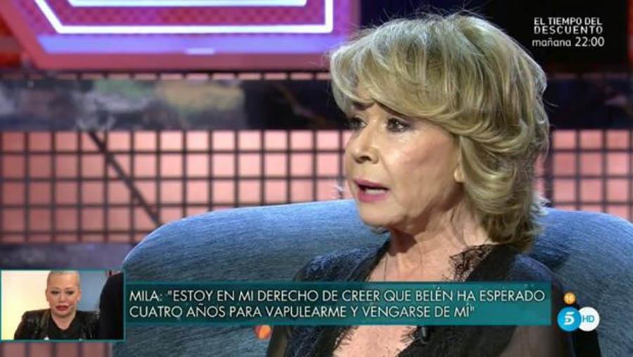 Mila Ximénez en 'Sábado Deluxe' / Telecinco