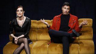 Adara y Gianmarco: tenso reencuentro./Mediaset