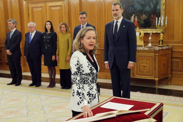 Varela 'reina' en Zarzuela (y esta vez no es por Letizia)