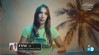 Fani, la protagonista absoluta de la noche./Mediaset