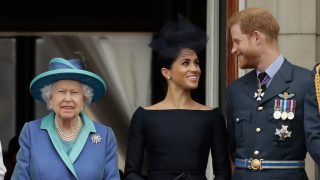 Isabel II ya ha decidido sobre los duques de Sussex / Gtres