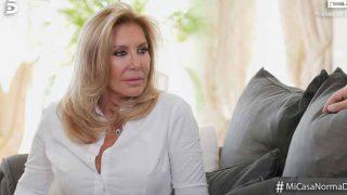 Norma Duval en un momento de la entrevista / Telecinco