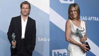 Brad Pitt y Jennifer Aniston durante los Premios del Sindicato de Actores / GTRES