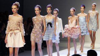 Desfile de Valentino durante la Semana de la Moda de Paris. / Gtres