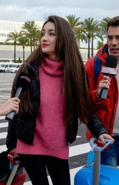 La 'doble cara' de Adara en su regreso a Palma de Mallorca