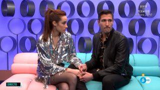 Adara y Gianmarco: un amor interrumpido./Mediaset