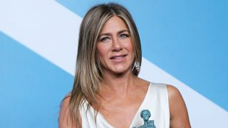La actriz Jennifer Aniston en los SAG Awards 2020. / Gtres