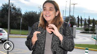 Toñi Moreno a las puertas de la clínica / Gtres