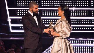 Rihanna y Drake, en una de sus pocas apariciones juntos / Gtres