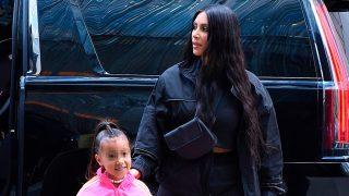 Kim Kardashian y su hija North West en una imagen de archivo / Gtres