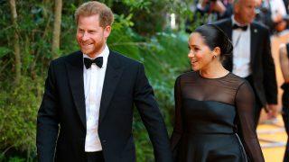 El príncipe Harry y Meghan Markle en la premeriere de 'El Rey León' / Gtres