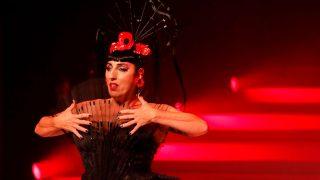 La actriz Rossy de Palma en el desfile de Jean Paul Gaultier. / Gtres