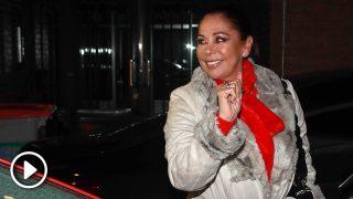 Isabel Pantoja tras una cena en Madrid / GTRES