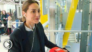 Tamara Falcó, en el aeropuerto