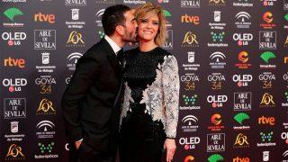Manuel Zamorano y María Casado en la alfombra roja de los premios Goya / Gtres