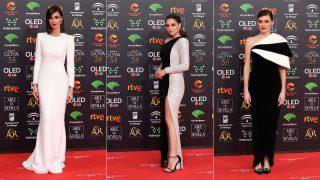 Paz Vega, Andrea Duro y Marta Nieto en la alfombra roja de los premios Goya / Gtres