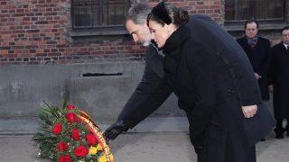 Doña Letizia y Don Felipe en el homenaje de Auschwitz / Casa Real