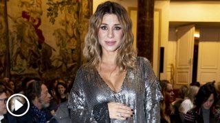 Elena Tablada presume de embarazo en el desfile de Teté By Odette en la Pasarela Mercedes-Benz Fashion Week (Foto: Gtres)