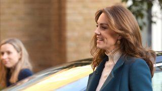 Kate Middleton a su llegada al acto / Gtres