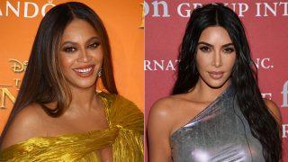 Beyonce y Kim Kardashian / Gtres