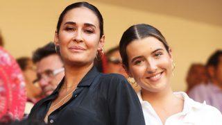 La diseñadora Vicky Martín Berrocal y su hija Alba Díaz. / Gtres