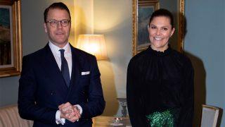 Daniel y Victoria de Suecia en una cena con el gobernador de Malmö / Gtres